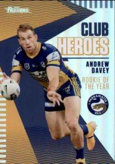 2021 NRL Traders Club Heroes CH20 Andrew Davey Eels
