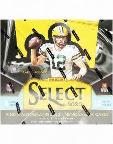 2020 Panini NFL Football Select Hobby Box