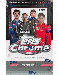 2020 Topps Chrome Formula 1 Hobby Box