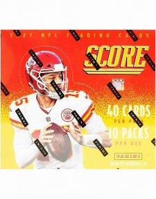 2021 Panini NFL Football Score Hobby Box