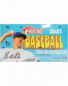 2021 Topps Heritage MLB Baseball Hobby Box