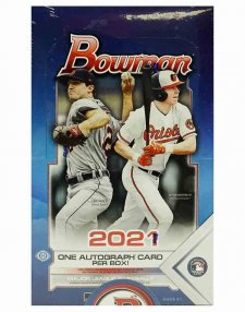 2021 Topps MLB Baseball Bowman Hobby Box