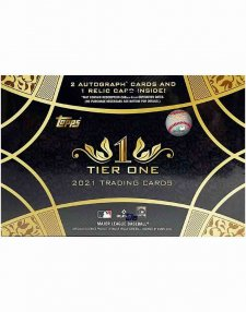 2021 Topps MLB Baseball Tier One Hobby Box
