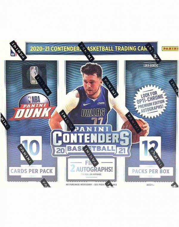2020-21 Panini NBA Basketball Contenders Hobby Box