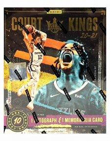 2020-21 Panini NBA Basketball Court Kings Hobby Box