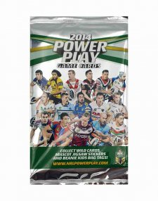 2014 NRL Power Play Sealed Packet