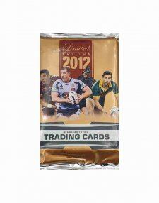 2012 ESP NRL Limited Edition Sealed Trading Card Packet
