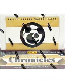 2020/21 Panini Soccer Chronicles Hobby Box