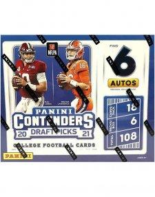 2021 Panini NFL Football Contenders Draft Picks Hobby Box
