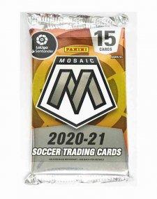 2020/21 Panini Mosaic La Liga Soccer Hobby Packet