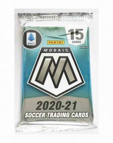 2020/21 Panini Mosaic Serie A Soccer Hobby Packet