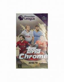 2018/19 Topps Chrome Premier League Soccer Hobby Pack