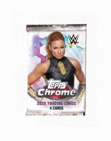 2020 Topps WWE Chrome Hobby Packet