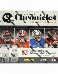 2021 Panini NFL Football Chronicles Draft Picks Hobby Box