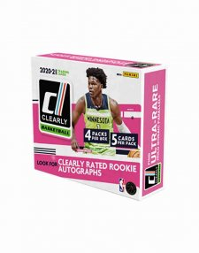2020-21 Panini NBA Basketball Clearly Donruss Hobby Box