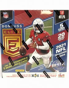 2021 Panini NFL Football Elite Hobby Box