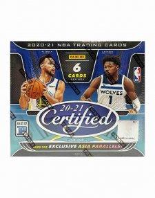 2020-21 Panini NBA Basketball Certified Tmall Hobby Box