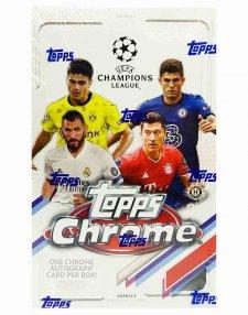 2020/21 Topps Chrome UEFA Champions League Soccer Hobby Box
