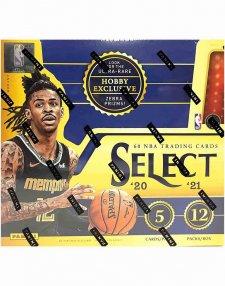 2020-21 Panini NBA Basketball Select Hobby Box