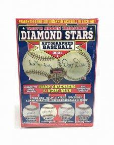 2021 Tristar Hidden Treasures Diamond Stars Autographed Baseball