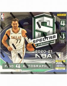 2020-21 Panini NBA Basketball Spectra Hobby Box