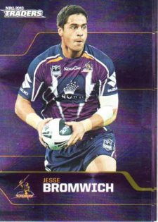 2013 NRL Traders Parallel P073 Jesse Bromwich Storm