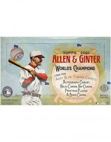 2021 Topps Allen & Ginter MLB Baseball Hobby Box