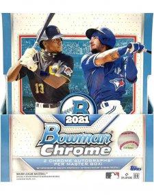 2021 Topps Bowman Chrome MLB Baseball Hobby Box