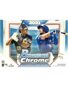 2021 Topps Bowman Chrome MLB Baseball HTA Choice Box
