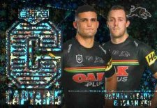 2021 NRL Elite Captains Priority C11 Nathan Cleary / Isaah Yeo Panthers