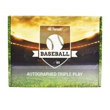 2021 Hit Parade Autographed Triple Play Baseball Box - Series 5