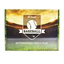 2021 Hit Parade Autographed Triple Play Baseball Box - Series 7