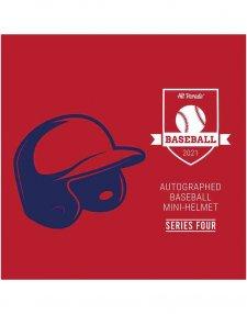2021 Hit Parade Autographed Baseball Mini Helmet - Series 4