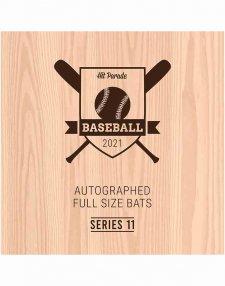 2021 Hit Parade Autographed Baseball Bat - Series 11