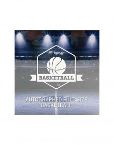 2020/21 Hit Parade Autographed Full Sized Basketball Box - Series 9
